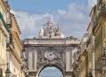 Центр города - Помбалино (Pombaline Downtown). Лиссабон. Португалия